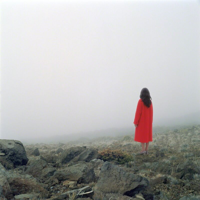 Karin Bubaš, 'Red Coat and Mountain Vista', 2017, Photography, Archival pigment print, Monte Clark Gallery