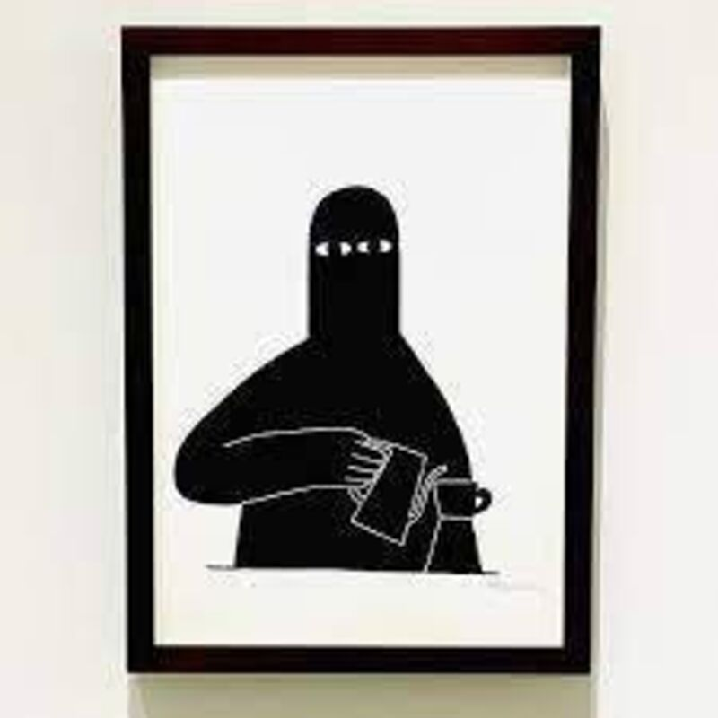 Ly, 'Coffee Stand in the Painting', 2019, Print, Screenprint, Marcel Katz Art