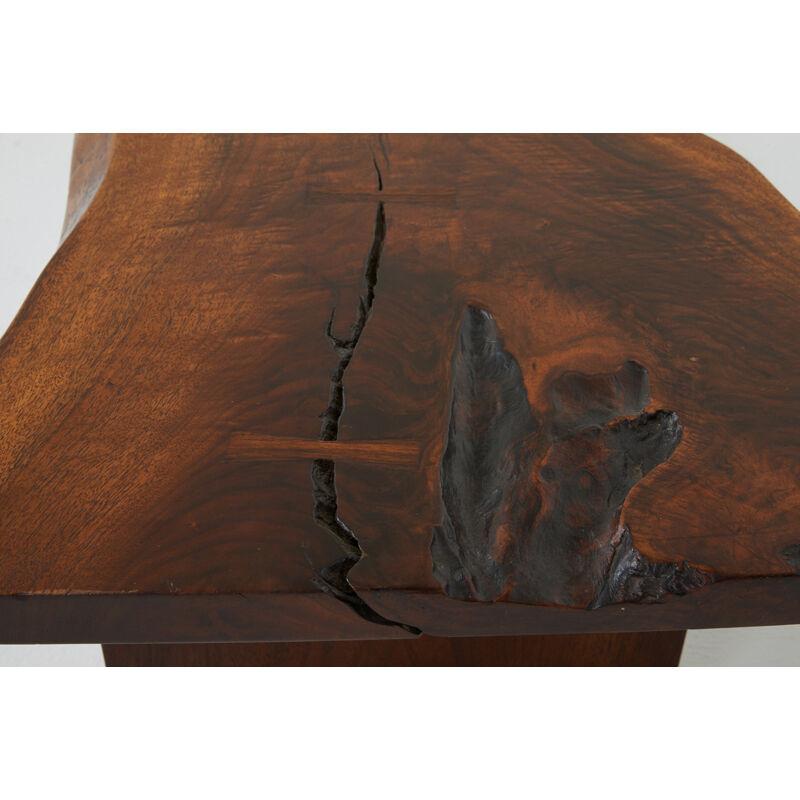 George Nakashima, 'Conoid Coffee Table, New Hope, PA', Design/Decorative Art, Walnut, Rosewood, Rago/Wright