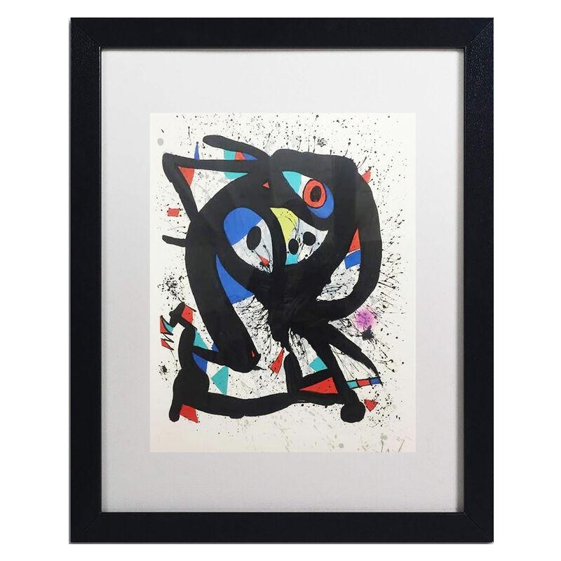 Joan Miró, 'Israël', 1975, Print, Original lithograph edition of 50, Robin Rile Fine Art