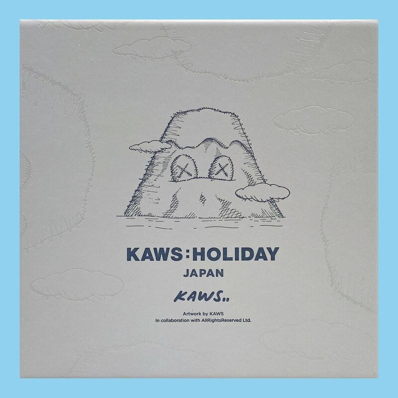 KAWS, '2 Mount Fuji Holiday Plush Figers (Set of 2 Colors Grey and Blue)', 2019, Ephemera or Merchandise, Plush in colors, artempus