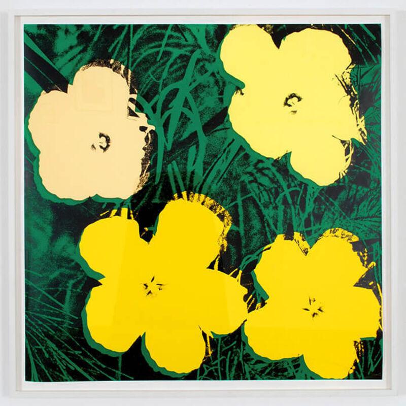 Andy Warhol, 'Flowers II.72', 1970, Print, Screenprint on paper, Rudolf Budja Gallery