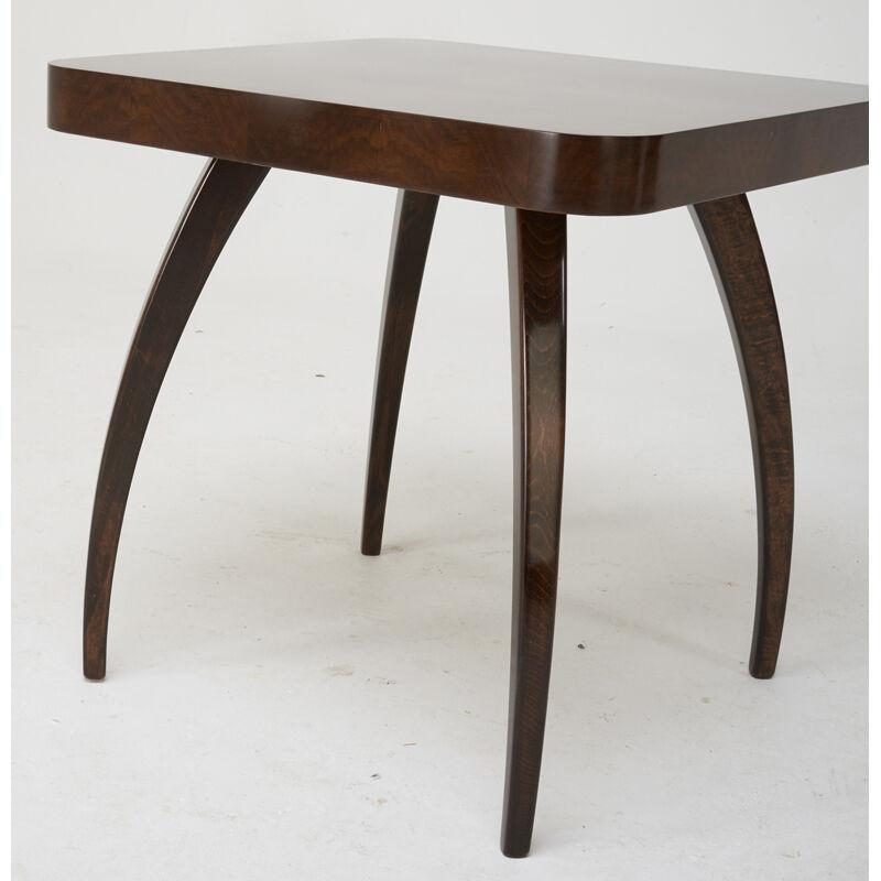 Jindrich Halabala, 'Table (No. H259), Czechoslovakia', 1940s, Design/Decorative Art, Figured Walnut, Stained Beech, Rago/Wright