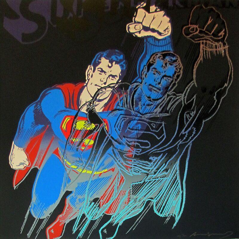Andy Warhol, 'Superman, II.260 (from Myths)', 1981, Print, Screenprint on Lenox Museum Board, IFAC Arts