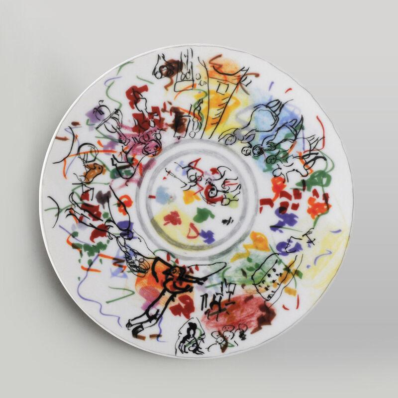 Marc Chagall, 'COLLECTION MARC CHAGALL', 2010, Design/Decorative Art, Porcelain, Bernardaud