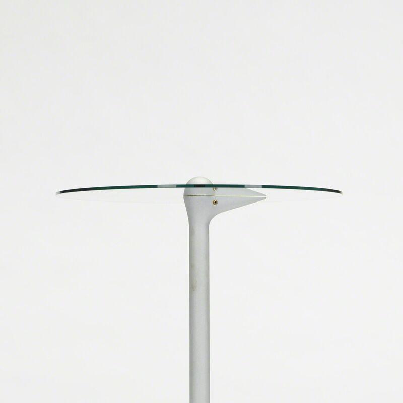 Alessandro Mendini, 'Sirfo table', 1986, Design/Decorative Art, Cast and enameled aluminum, glass, chrome-plated steel, Rago/Wright