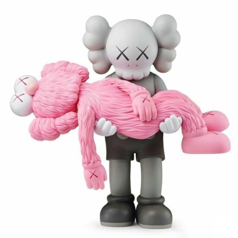 KAWS, 'Gone (Grey)', 2019, Sculpture, Painted cast vinyl, Curator Style