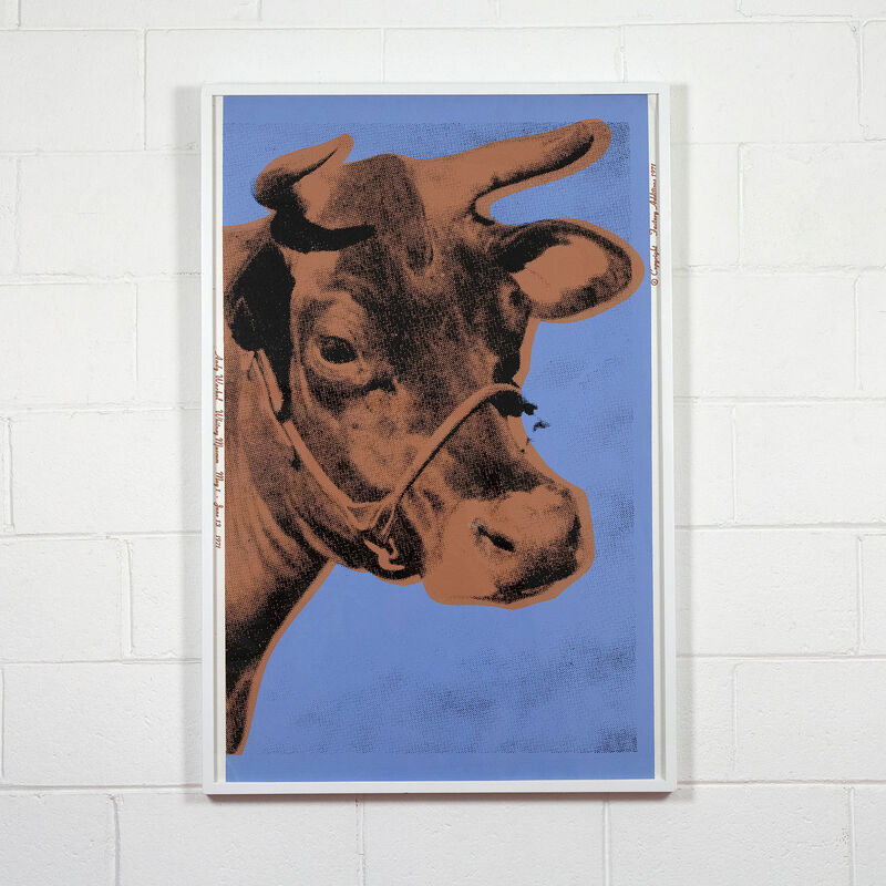 Andy Warhol, 'Cow', 1971, Print, Screenprint on wallpaper, Caviar20