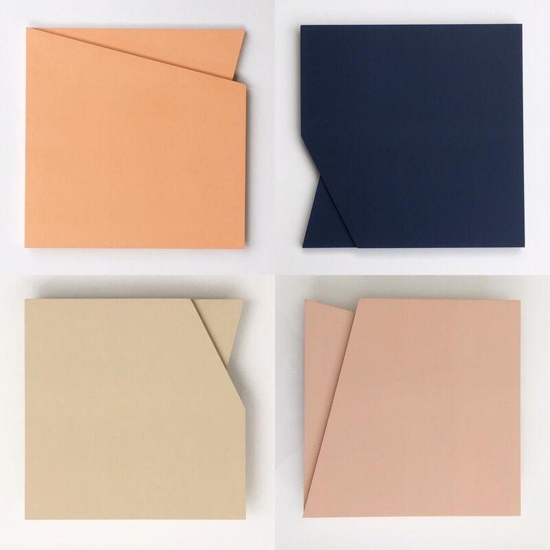 Laura Jane Scott, 'Form 50, Set 1', 2019, Sculpture, MDF and Interior Paint, Kittoe Contemporary