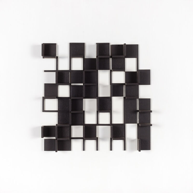 Andrew Christofides, 'Untitled Construction 1A', 1983, Painting, Acrylic and wood on board, Charles Nodrum Gallery