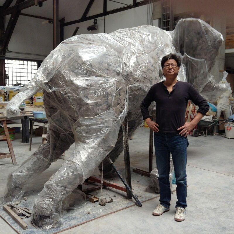 Wang Du 王度, 'Untitled', 2015, Sculpture, Resin, Baronian Xippas