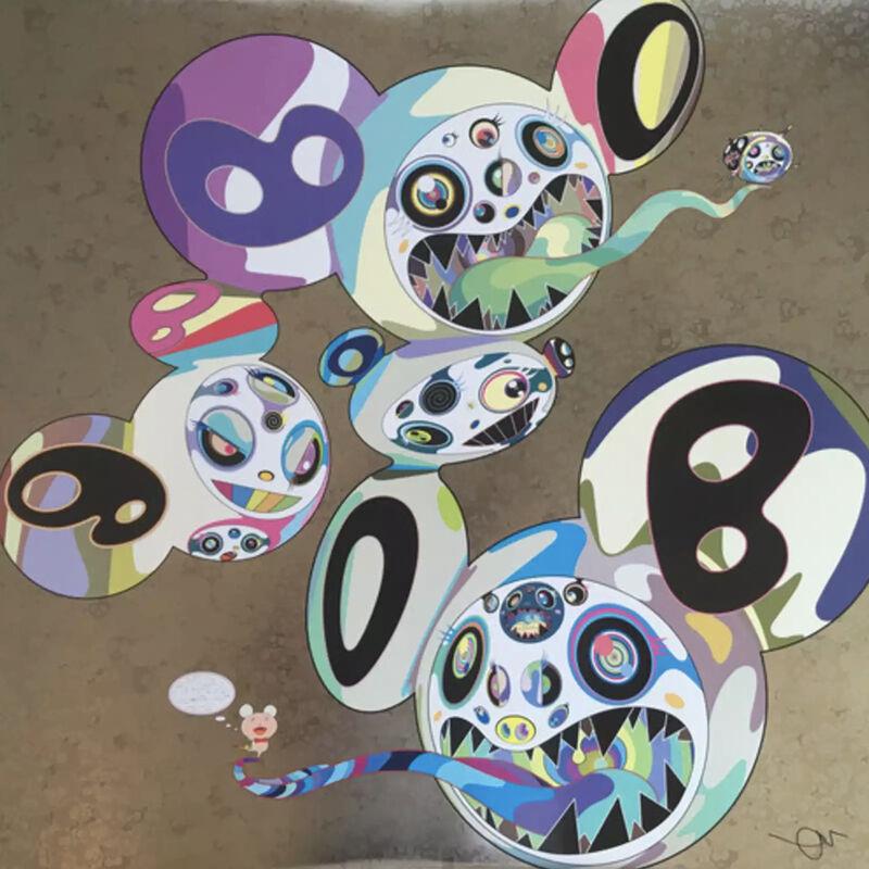 Takashi Murakami, 'Spiral', 2014, Print, Offset Lithograph, Pinto Gallery