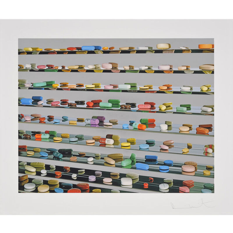 Damien Hirst, 'Utopia', 2012, Print, Foilprint, Weng Contemporary
