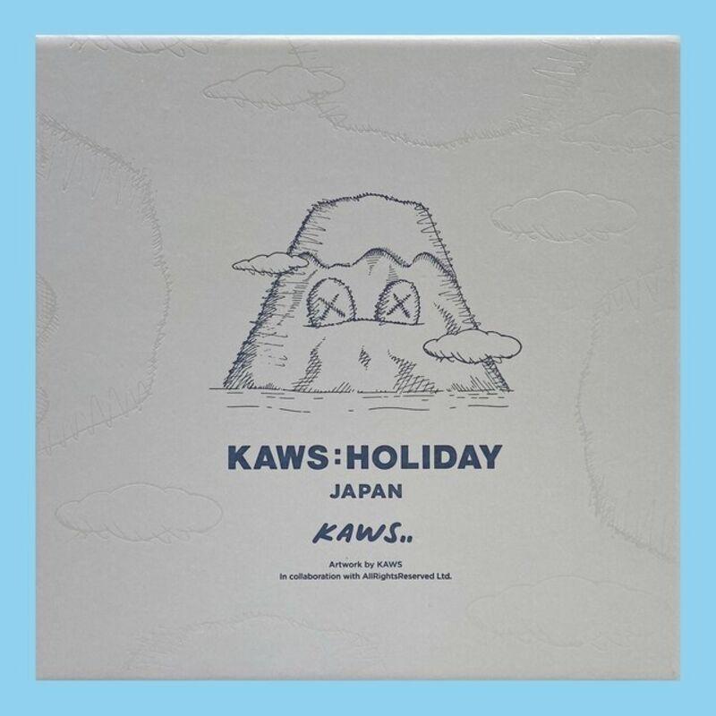 KAWS, 'KAWS plush Holiday Japan (KAWS grey mount Fuji)', 2019, Sculpture, Plush figure, Lot 180