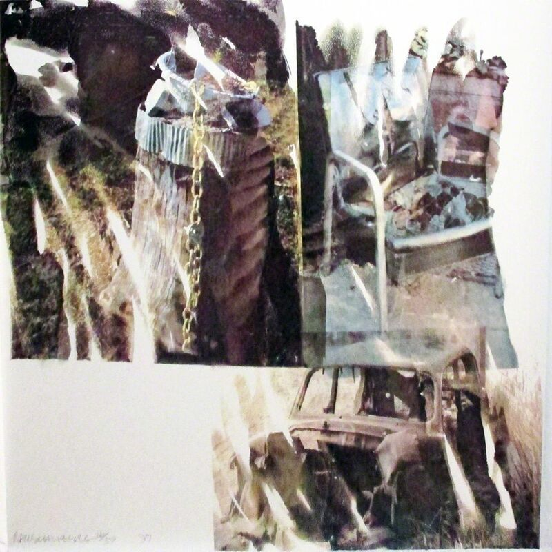 Robert Rauschenberg, 'Relic (Speculations)', 1997, Print, Screenprint, Hamilton-Selway Fine Art
