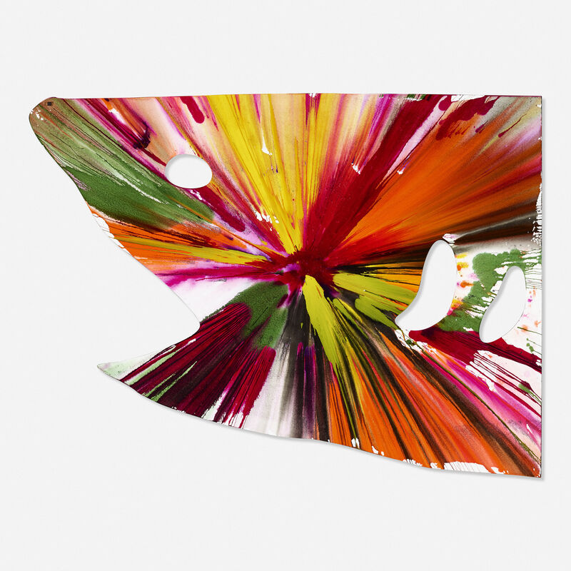 Damien Hirst, 'Shark Spin Painting', 2009, Painting, Acrylic on paper, Rago/Wright