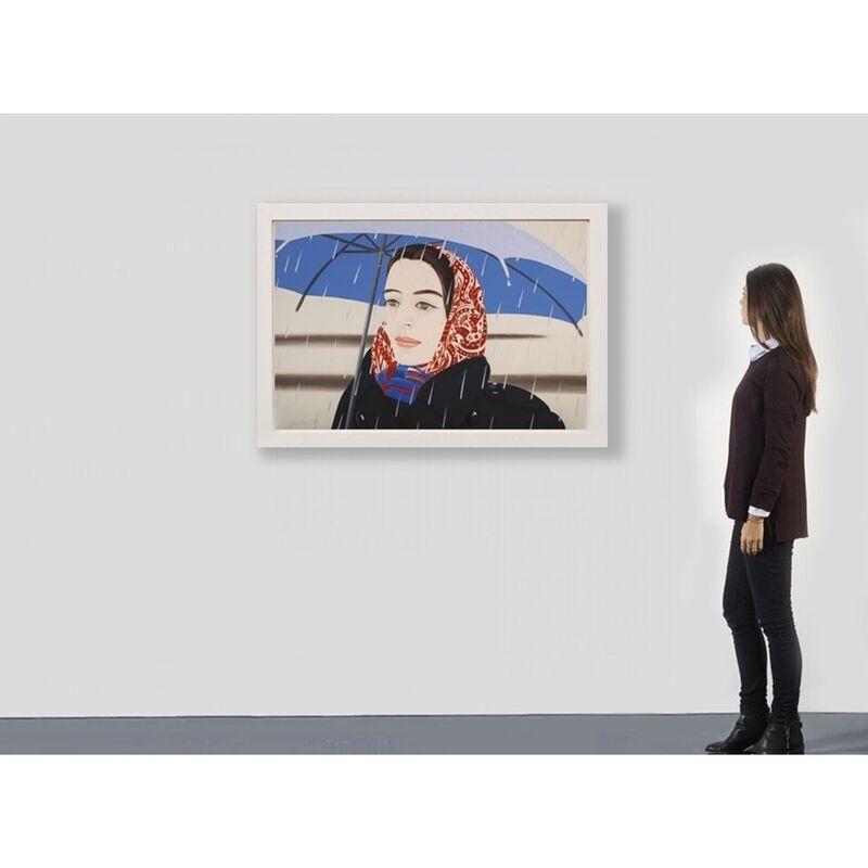 Alex Katz, 'Blue Umbrella 2', 2020, Print, Archival Pigment  inks on Crane Museo Max 365 gsm fine art paper, Weng Contemporary