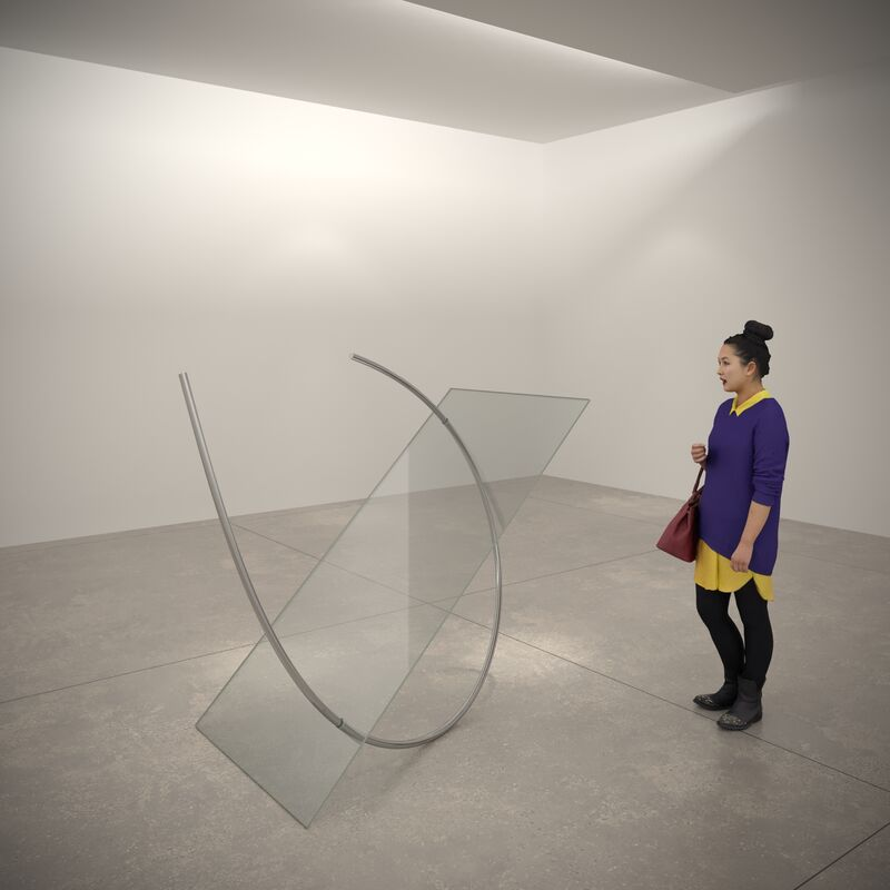 Túlio Pinto, 'Untitled 2020', 2020, Sculpture, Steel and glass, Gallery Nosco