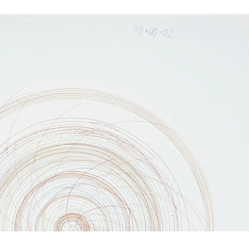Damien Hirst, 'Spin, Spin Sugar (from In a Spin, the Action of the World on Things, Volume II)', 2002, Print, Etching in colors on 350gsm Hahnemühle paper, Weng Contemporary