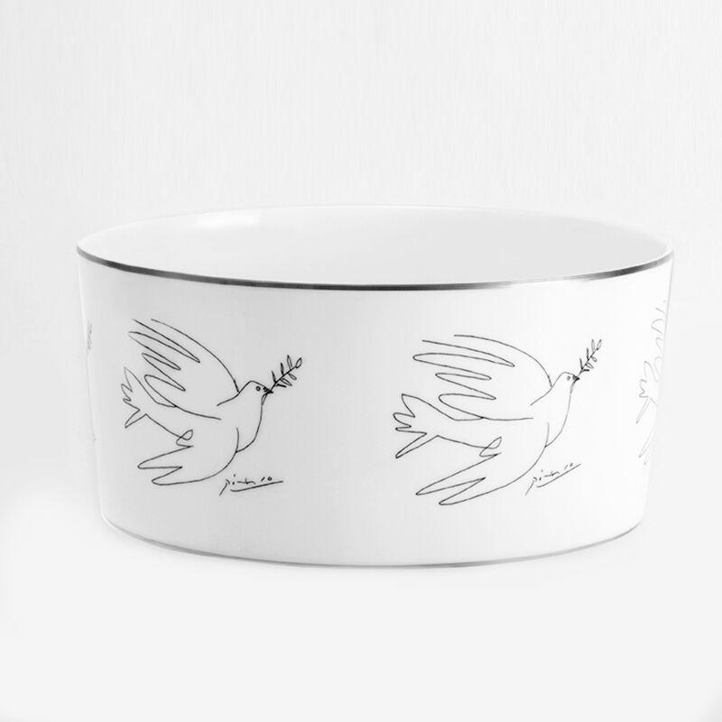 Pablo Picasso, 'Serving Bowl (The Dove)', 2016, Design/Decorative Art, Porcelain with silver trim, Artware Editions