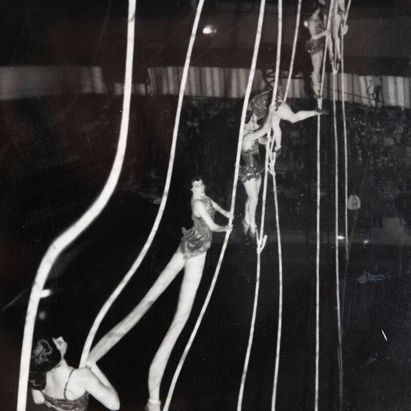 Weegee, 'Tightrope Ladies', 1950, Photography, Gelatin silver print, Caviar20