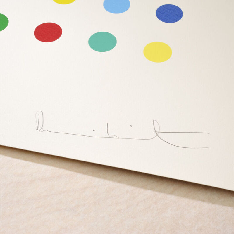 Damien Hirst, 'Lanatoside B', 2011, Print, Silkscreen on paper, Samhart Gallery
