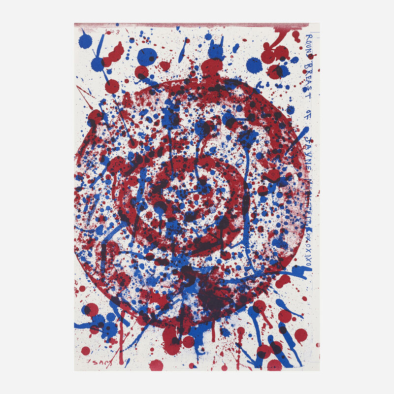 Jim Dine, 'Untitled (from the One Cent Life portfolio)', 1964, Print, Lithograph in colors, Rago/Wright/LAMA