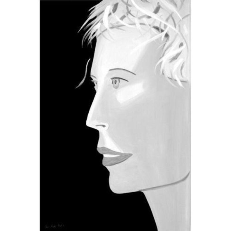 Alex Katz, 'Alex Katz, 'Coca Cola Girl (Black and White)' 2018 Print', 2018, Print, Archival pigment ink on Moab Entrada Rag Bright 300 gsm fine art paper, Hirth Fine Art