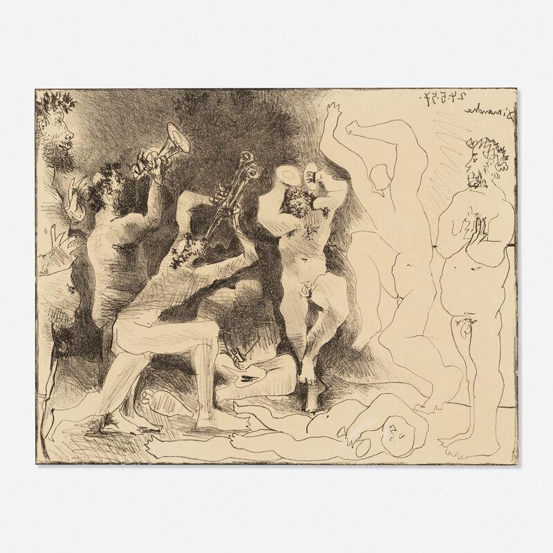 Pablo Picasso, 'La Danse des Faunes', 1957, Print, Lithograph on Arches, Rago/Wright