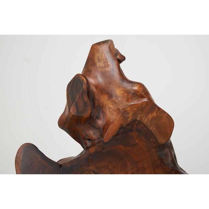 Mira Nakashima, 'Kevin End Table, New Hope, PA', 1993, Design/Decorative Art, Claro Walnut, Walnut, Rosewood, Rago/Wright/LAMA