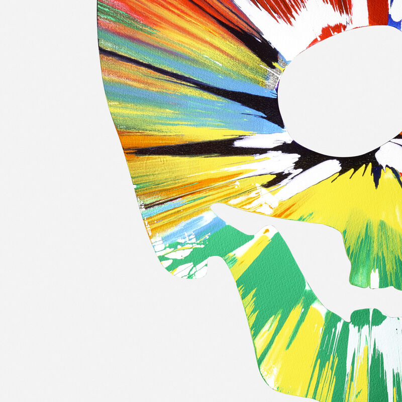 Damien Hirst, 'Skull Spin Painting', 2009, Painting, Acrylic on paper, Rago/Wright/LAMA