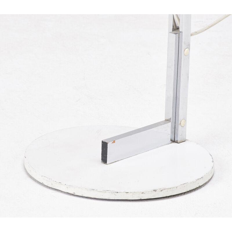 Reggiani, 'Adjustable Floor Lamp, Italy', 1950s, Design/Decorative Art, Chromed and enameled steel, one socket, Rago/Wright