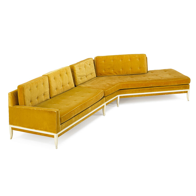 Tommi Parzinger, 'Sectional Sofa, New York', 1950s, Design/Decorative Art, Lacquered Wood, Upholstery, Rago/Wright/LAMA