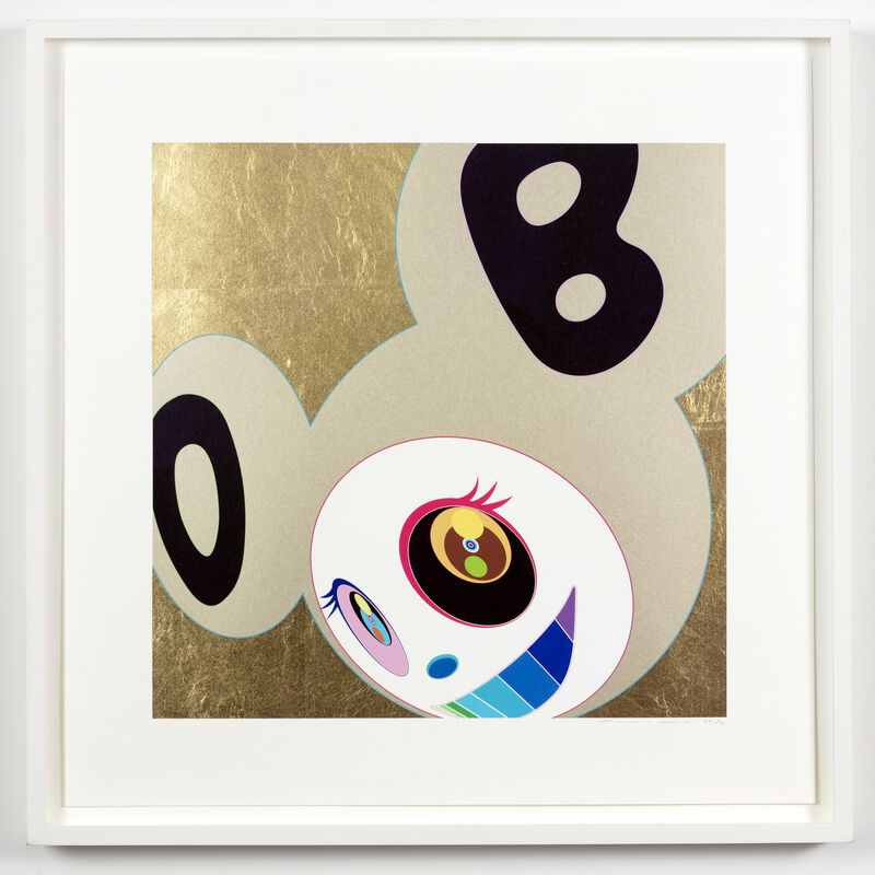 Takashi Murakami, 'And Then Gold', 2005, Print, Gold leaf, silkscreen ink, pencil, paper, Artificial Gallery
