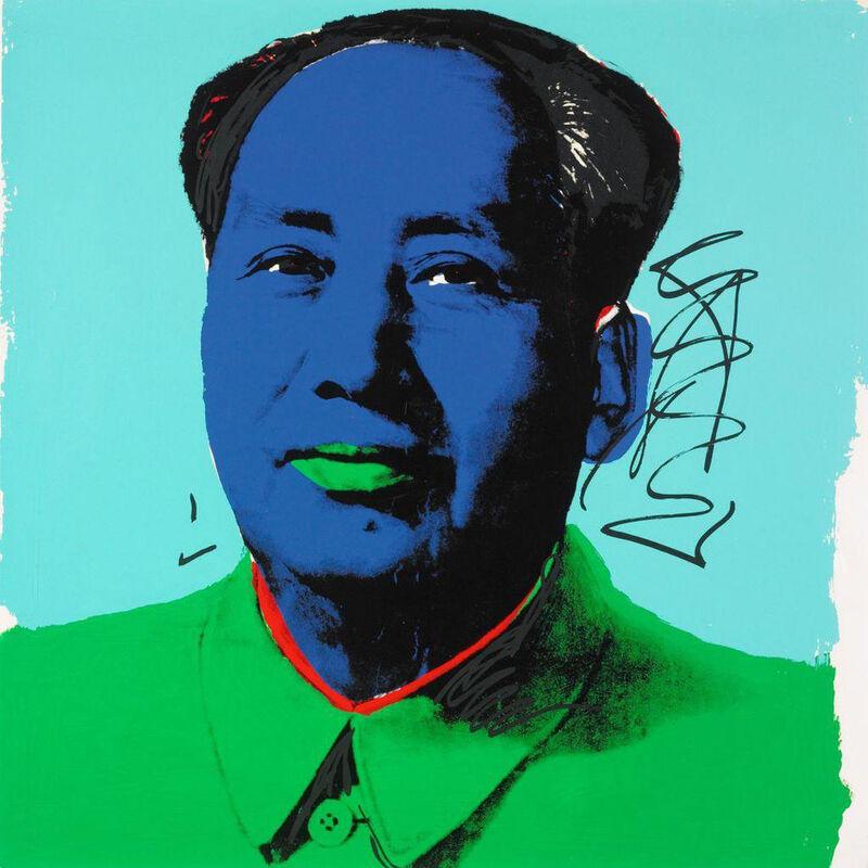 Andy Warhol, 'Mao (FS II.91)', 1972, Print, Screenprint on Beckett High White Paper, Revolver Gallery
