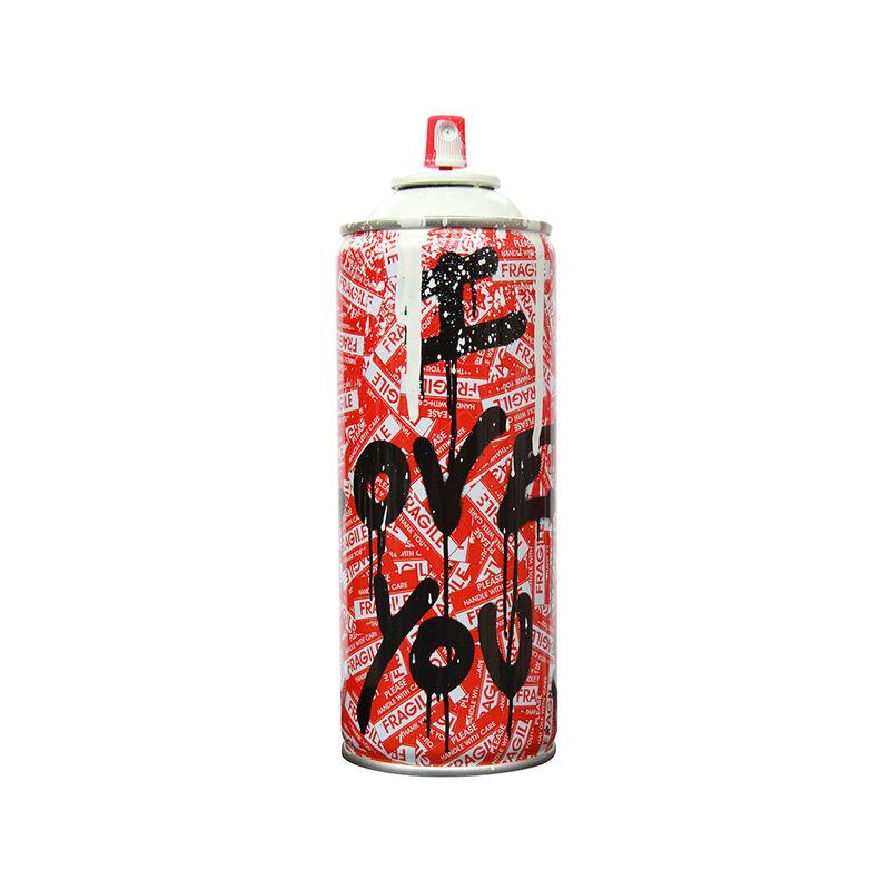 Mr. Brainwash, 'Can I Love You!', 2017, Design/Decorative Art, Spray Can, The Art Dose