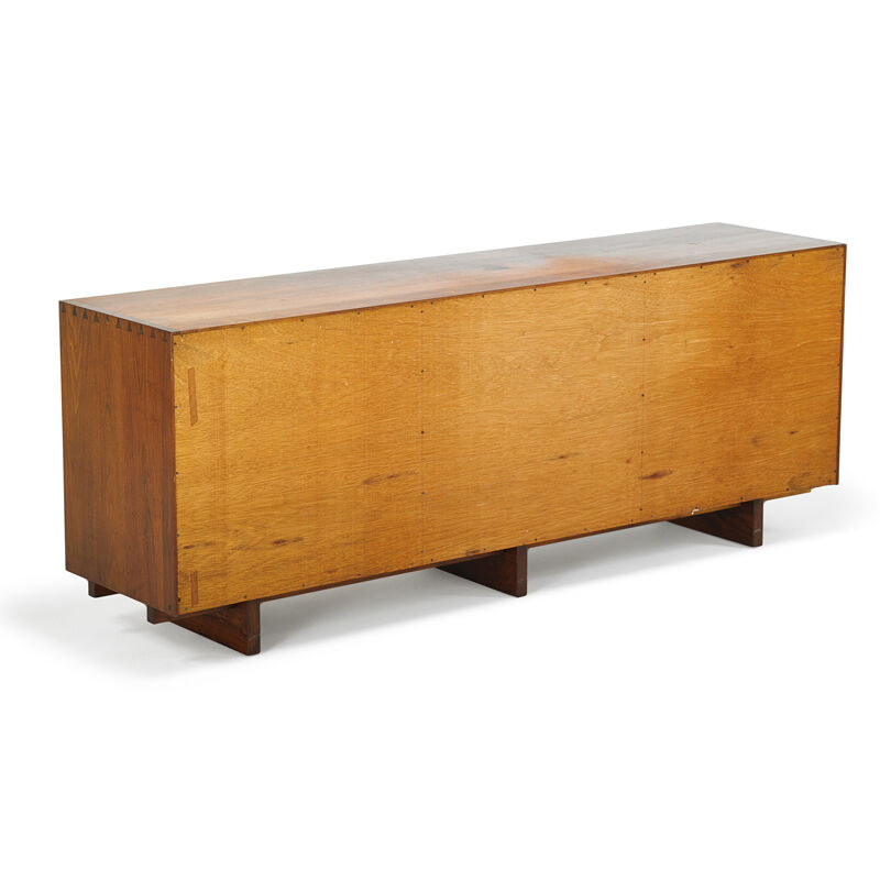 George Nakashima, 'Triple Sliding Door Cabinet, New Hope, PA', 1964, Design/Decorative Art, Walnut, Rago/Wright