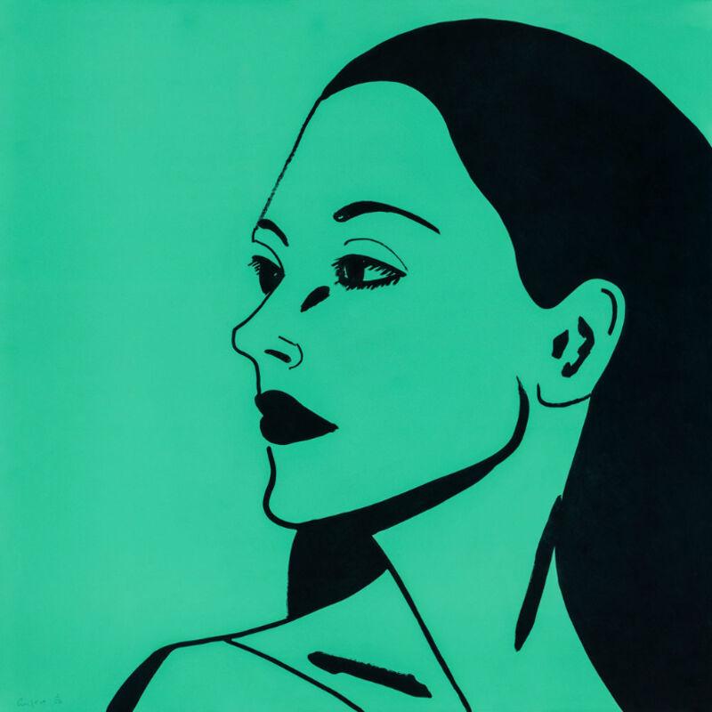 Alex Katz, 'Alex Katz, Laura 3', 2018, Print, Etching on fine art paper, Oliver Cole Gallery