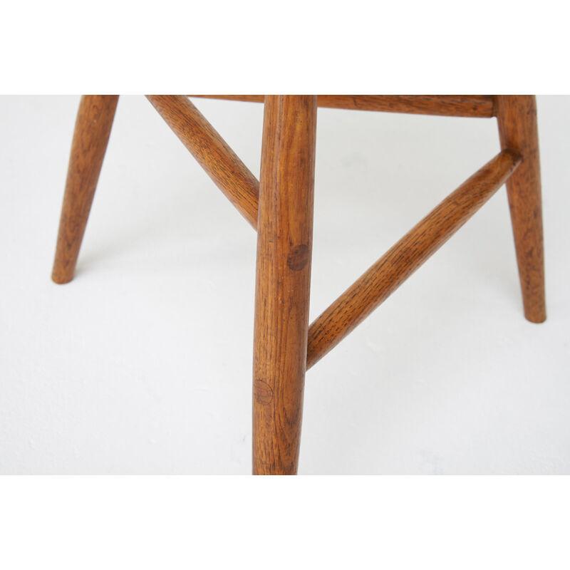 Wharton Esherick, 'Stool, Paoli, PA', 1959, Design/Decorative Art, Figured Walnut, Hickory, Rago/Wright