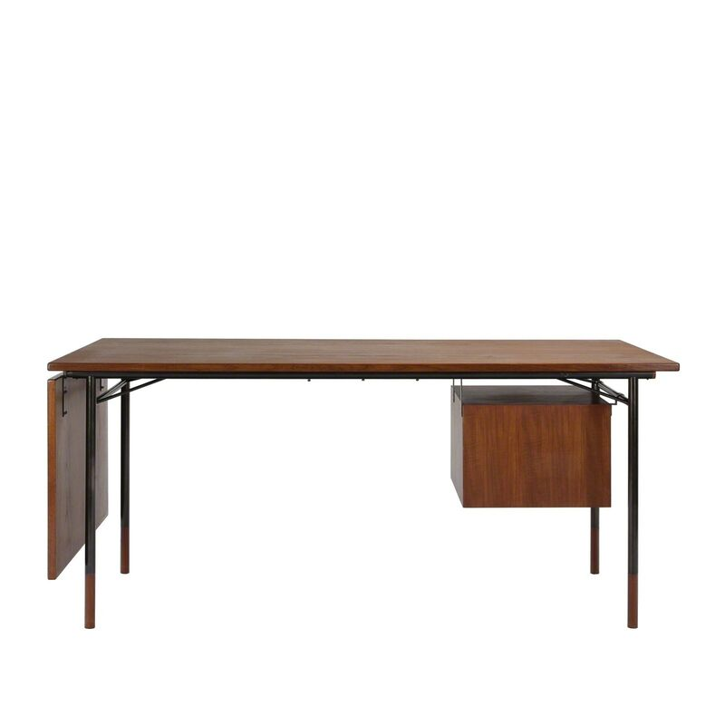 Finn Juhl, 'Desk', 1953, Design/Decorative Art, Teak and gun-metal, Dansk Møbelkunst Gallery