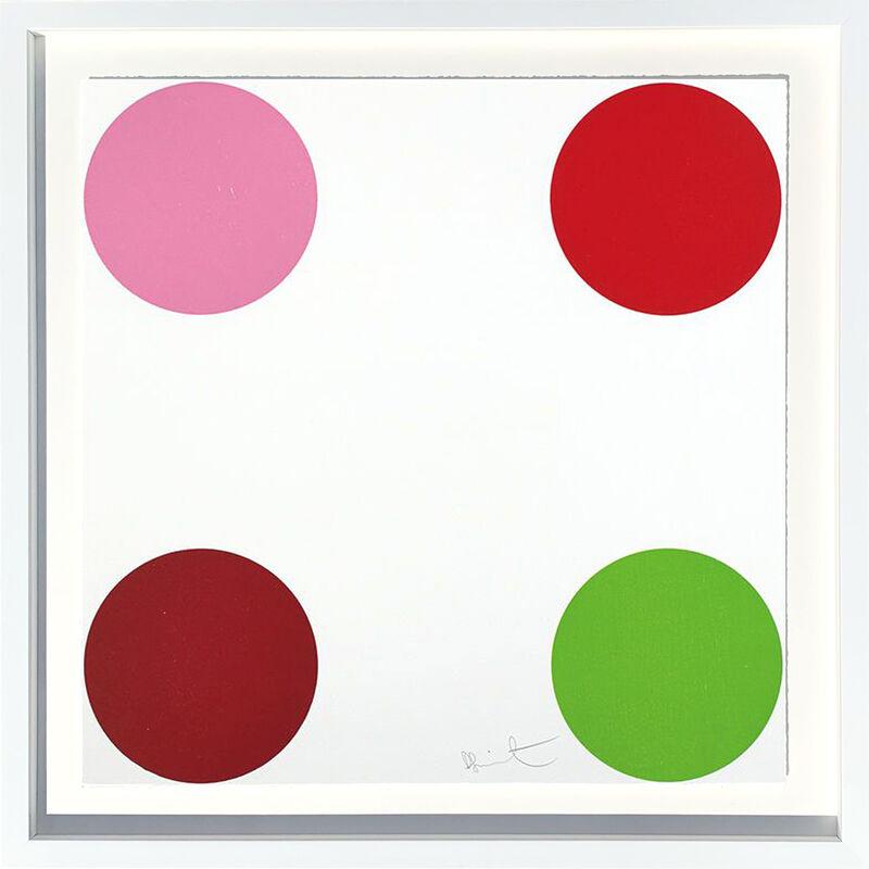 Damien Hirst, 'Curare', 2011, Print, Silkscreen and 2 colour foil block on Somerset Satin 410gsm, AbrahamArt