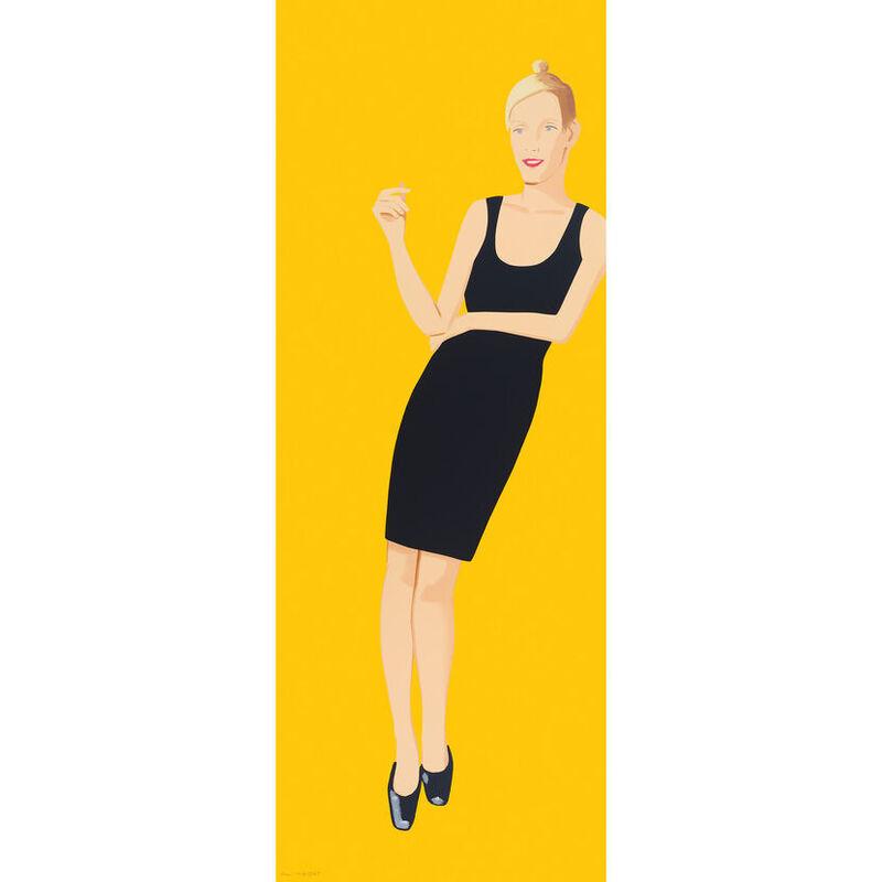 Alex Katz, 'Alex Katz, Black Dress (Oona)', 2015, Print, Silkscreen, Oliver Cole Gallery