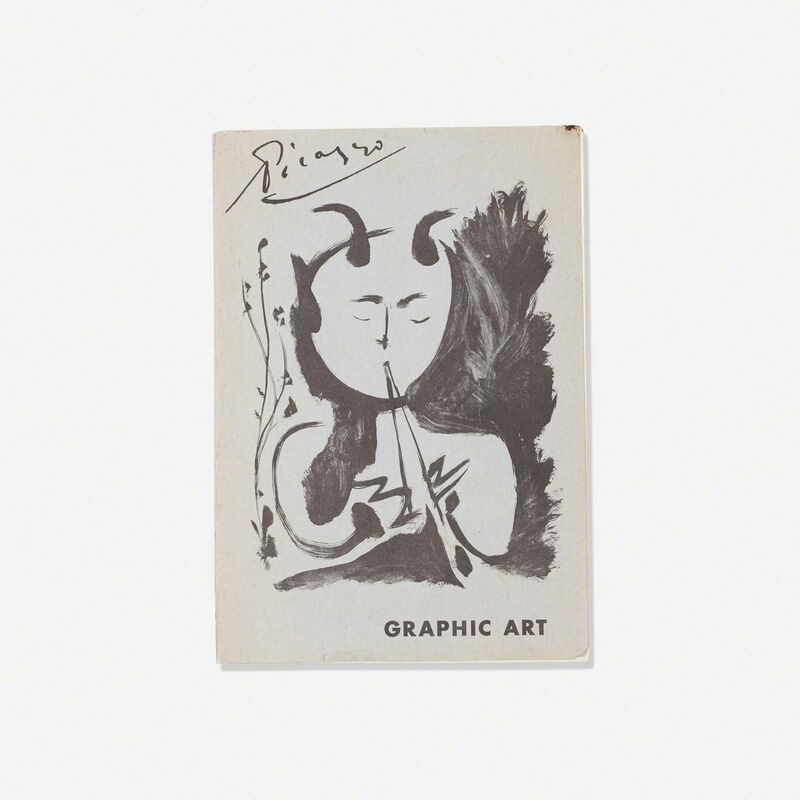 Pablo Picasso, 'signed copy of Picaso: Graphic Art', 1957/1960, Print, Printed paper, Rago/Wright