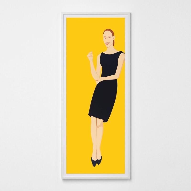 Alex Katz, 'Black Dress (Ulla)', 2015, Print, Silkscreen, Weng Contemporary