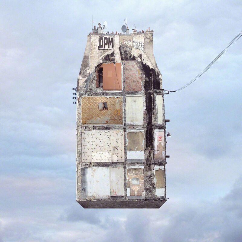 Laurent Chéhère, 'Trace au Mur', 2013, Photography, C Print, Muriel Guépin Gallery
