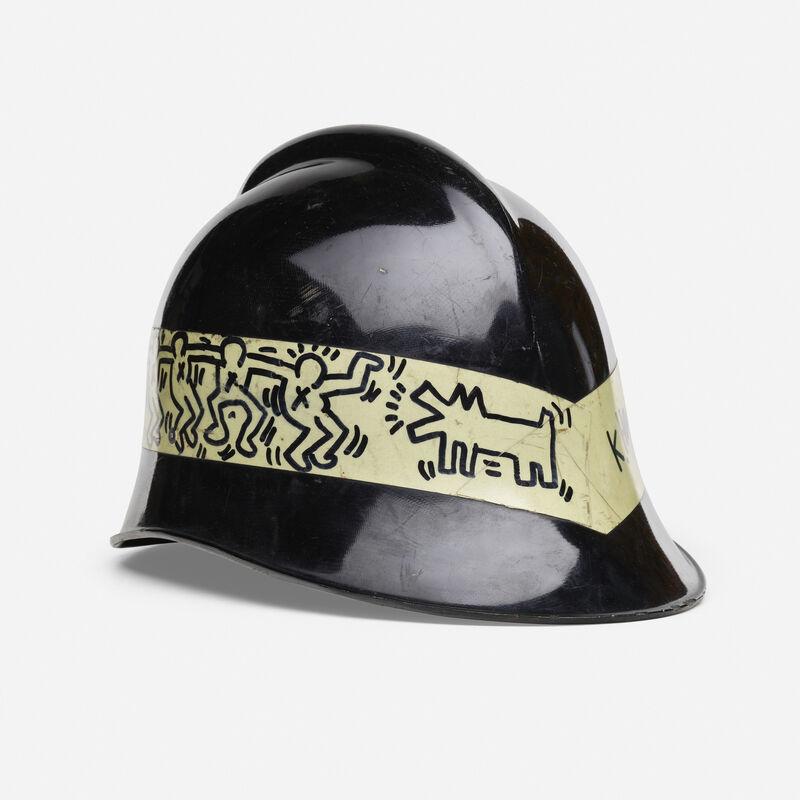 Keith Haring, 'Untitled (City of Milano fireman's helmet)', 1984, Other, Marker on helmet, Rago/Wright