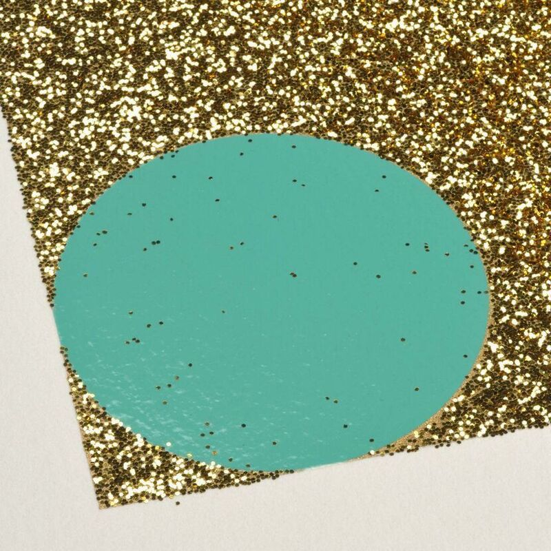 Damien Hirst, 'Damien Hirst, Aurous Iodide (with Gold Glitter)', 2009, Print, Silkscreen with gold glitter, Oliver Cole Gallery