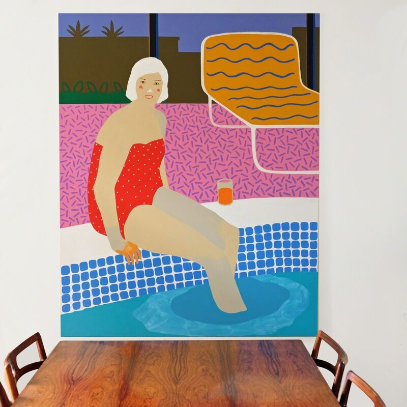 Alan Fears, 'The Plunge', 2018, Painting, Acrylic on Canvas, Fears and Kahn