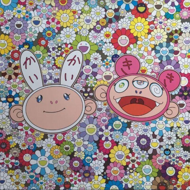 Takashi Murakami, 'Kaikai & Kiki: Dreaming of Shangri-La', 2015, Print, Offset print, Lougher Contemporary