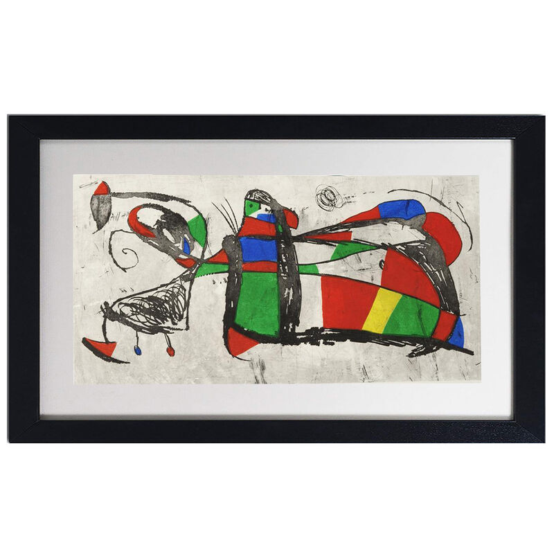 Joan Miró, 'Tres Joans', 1978, Print, Original etching and aquatint from the edition of XV on Arches wove, Robin Rile Fine Art